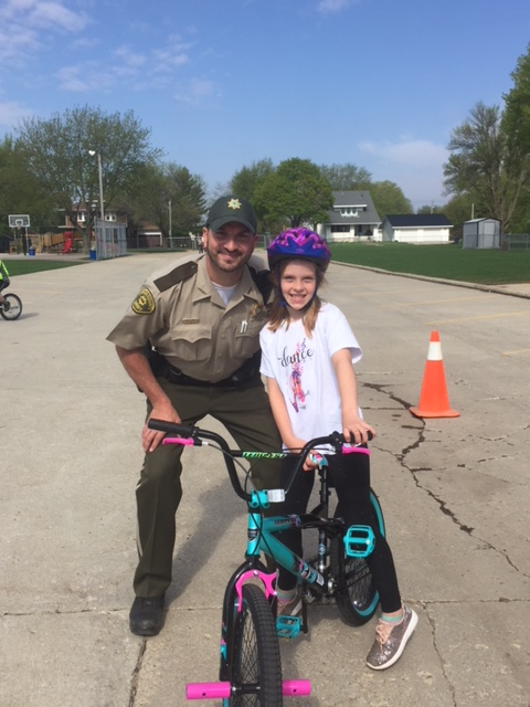 May 14 2018 Bicycle Safety at South O'Brien